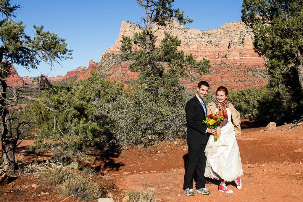 bell rock wedding sedona wedding photo