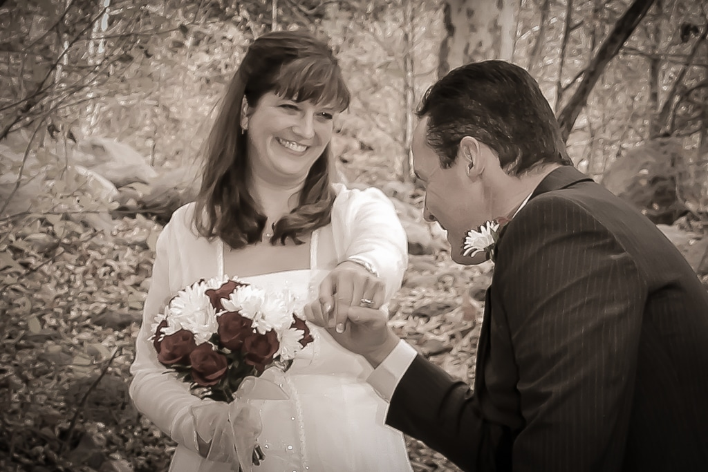 Briarpatch inn wedding with Suzanne Loo McCoy