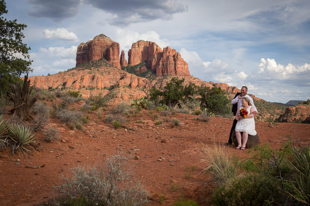 secret slick rock wedding