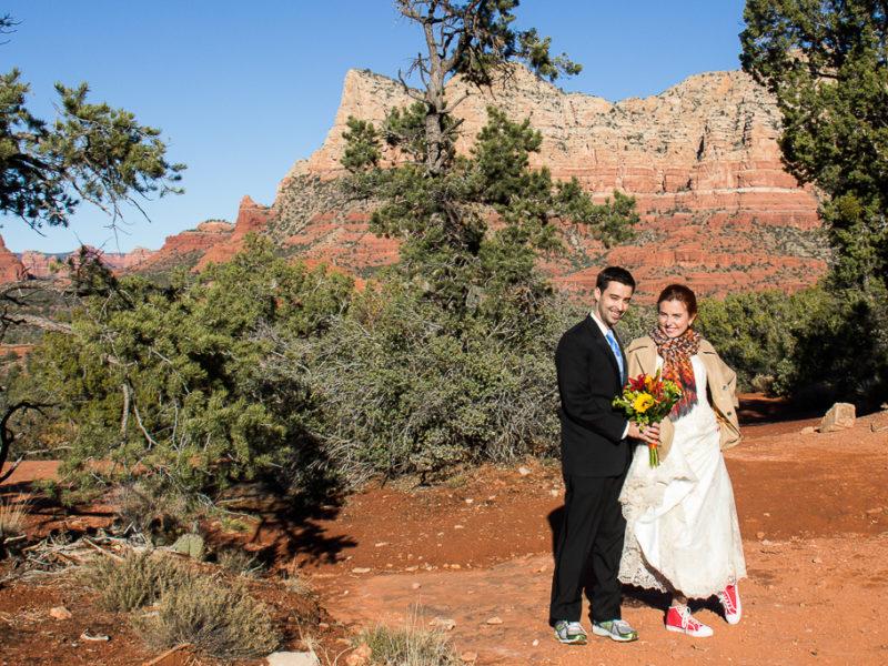 bell rock wedding sedona wedding photo