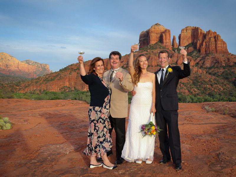secret slick rock wedding