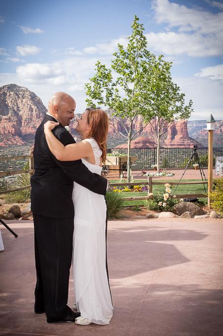 sedona sky ranch lodge sedona wedding photo