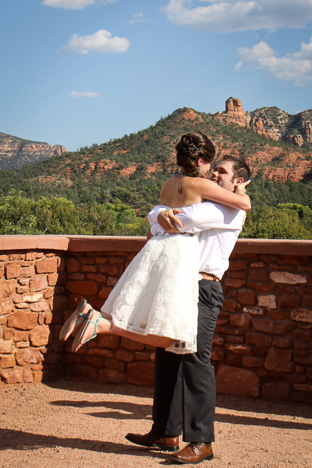 red rock state park wedding