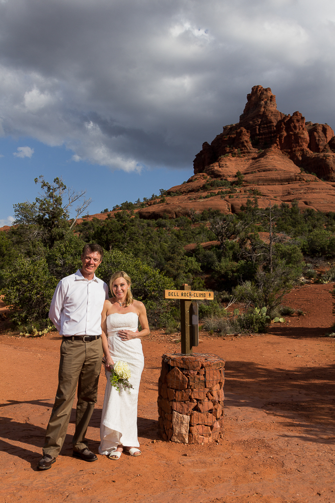Bell Rock Sedona Wedding