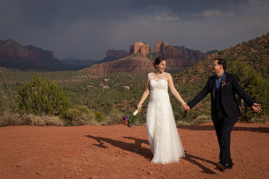 Wedding Tree Knoll sedona wedding photo
