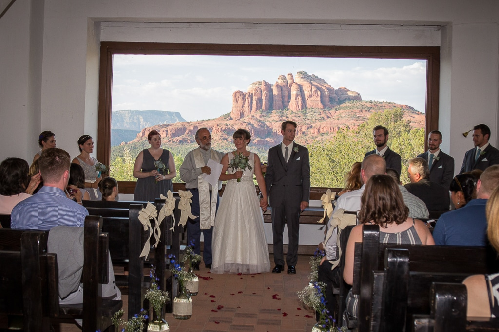 Verde Valley School chapel Sedona Wedding