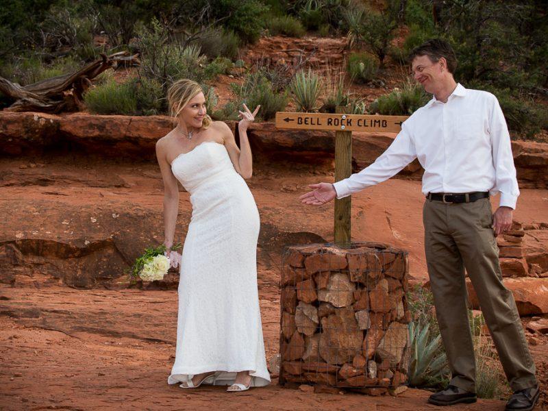 Bell Rock Wedding Location Sedona