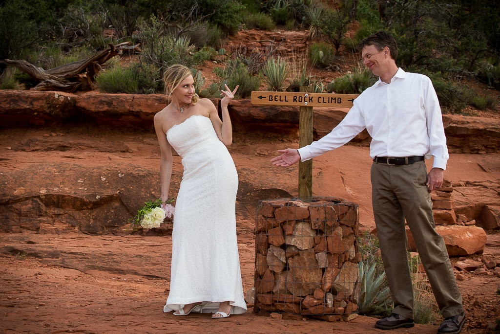 Bell Rock Wedding Location Sedona