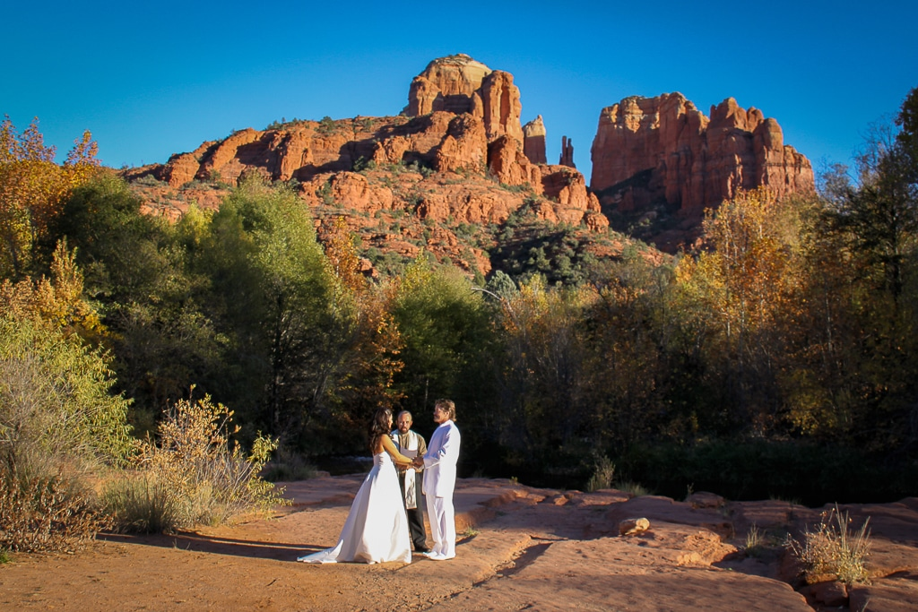 Crescent Moon ranch wedding location in Sedona