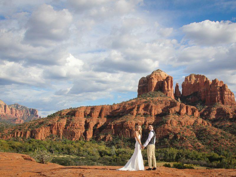 Secret Slick Rock Wedding Location in Sedona