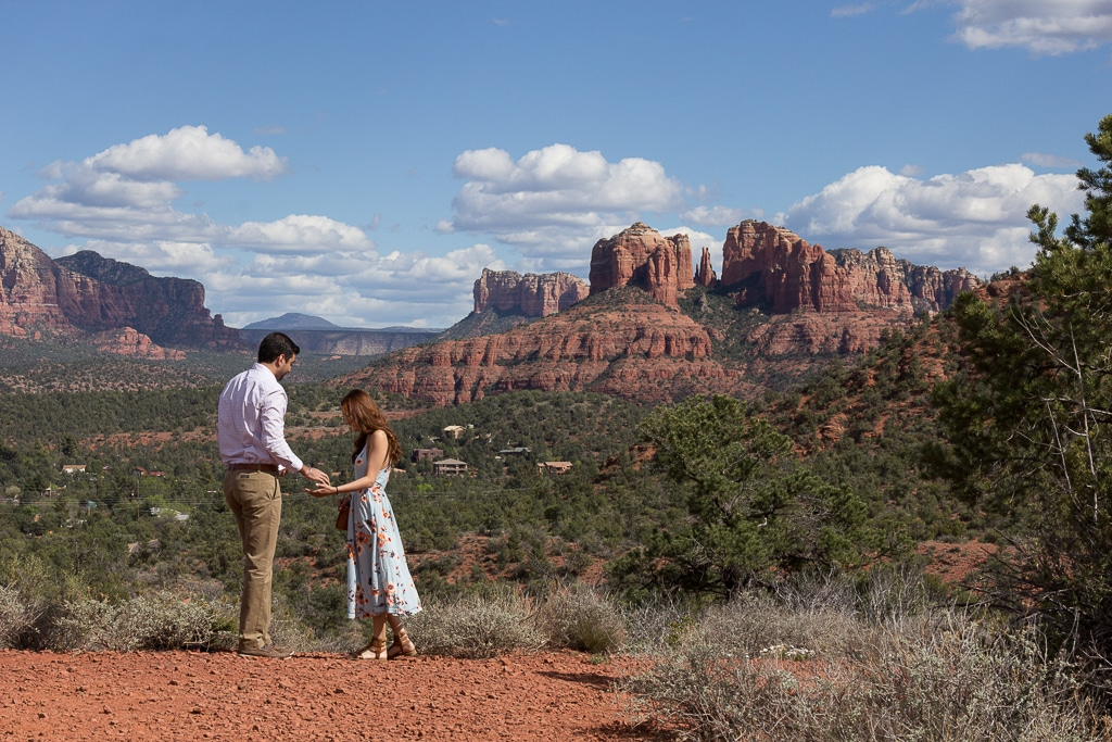 sedona engagement at the Knoll